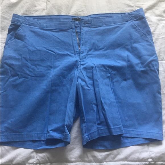 Riders by Lee Pants - Plus size khaki blue shorts